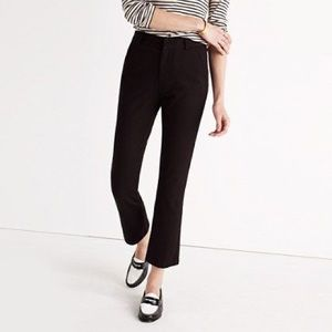 Madewell Cropped Flare Dress Pants